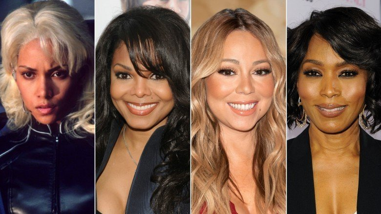 Halle Berry, Janet Jackson, Mariah Carey, and Angela Bassett
