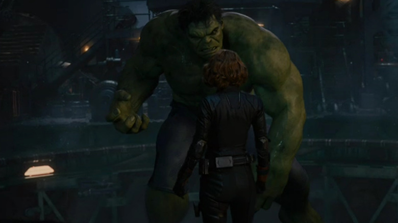 black widow and hulk relationship