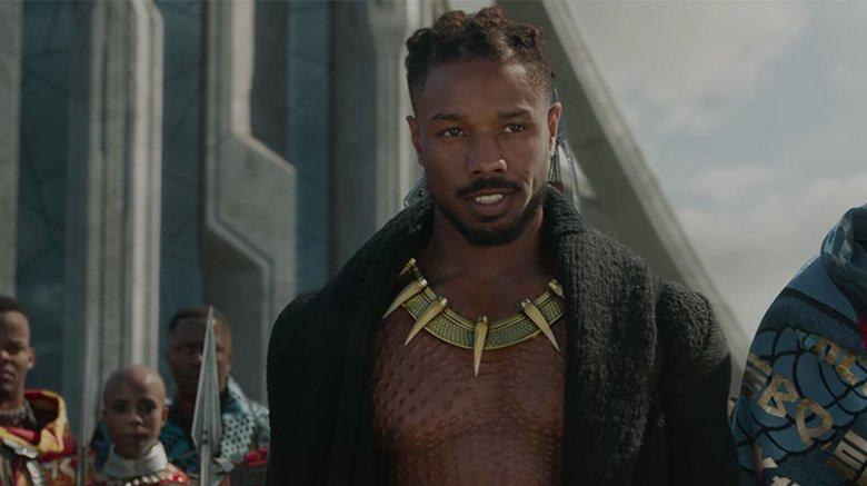 Erik Killmonger in Black Panther