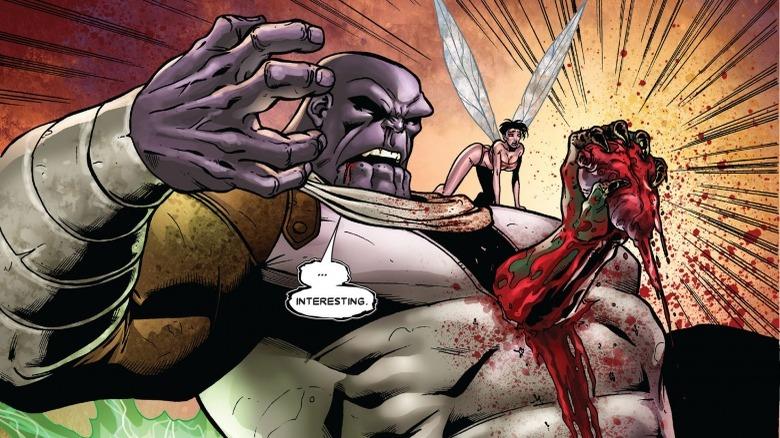 Drax vs. Thanos
