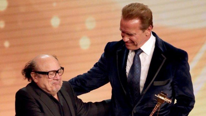 Danny DeVito and Arnold Schwarzenegger