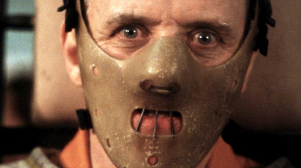 Anthony Hopkins comme Hannibal Lecter dans Le silence des agneaux