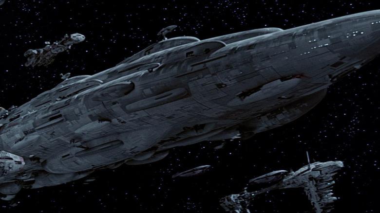 Last Jedi Cruiser