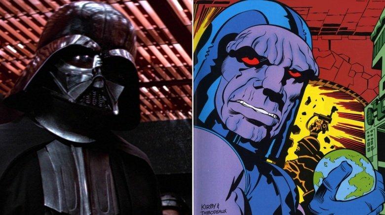 Darth Vader and Darkseid