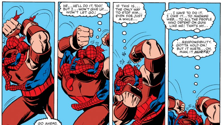 Juggernaut vs Spider-Man