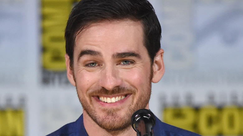 Colin O'Donoghue at a comic con panel