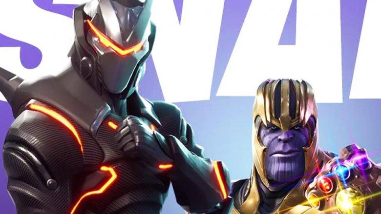 Fortnite + Avengers Crossover Event