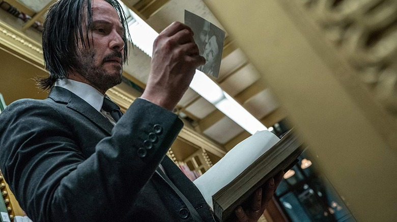 Keanu Reeves in John Wick Chapter 3 Parabellum