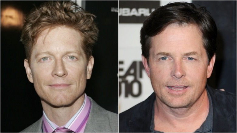 Eric Stoltz and Michael J. Fox