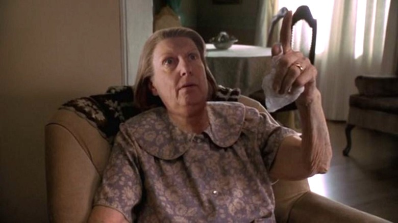 Nancy Marchand in The Sopranos