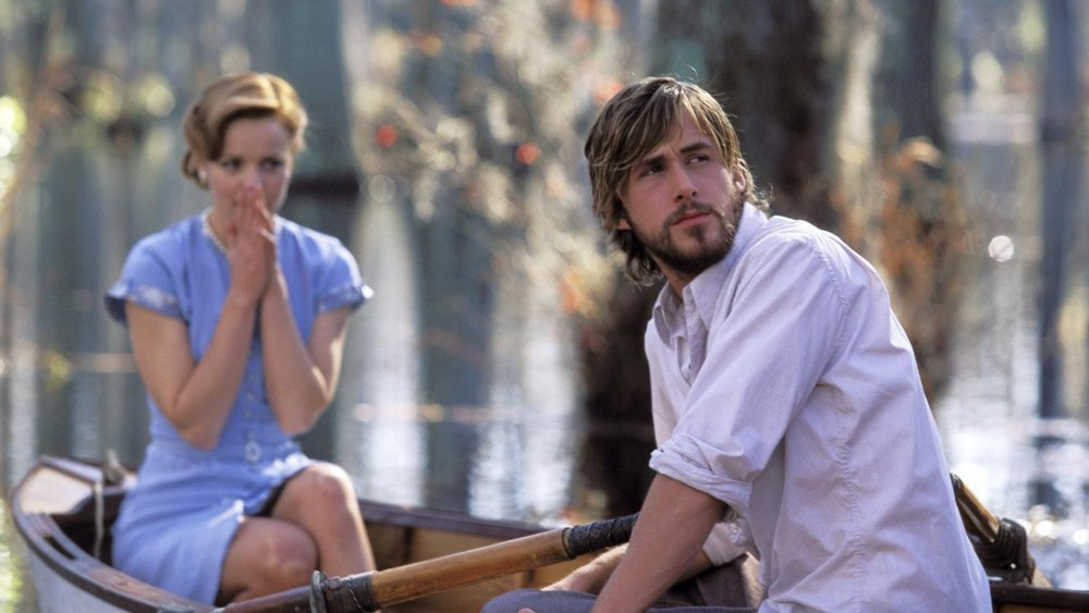 Ryan Gosling and Rachel McAdams, The Notebook