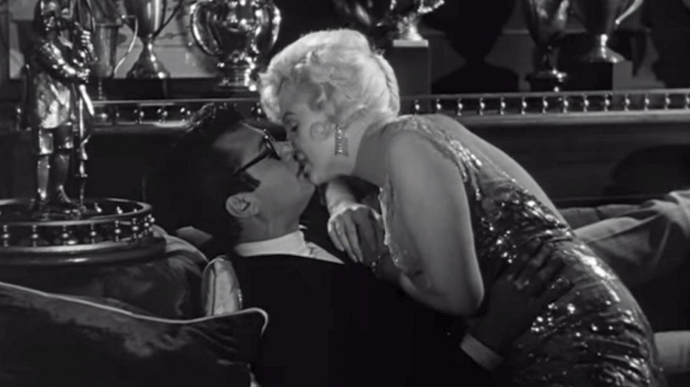 Marilyn Monroe and Tony Curtis