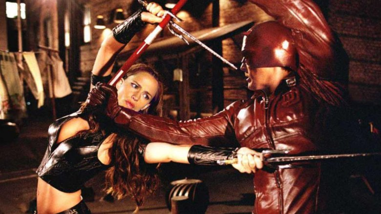 Elektra and Daredevil