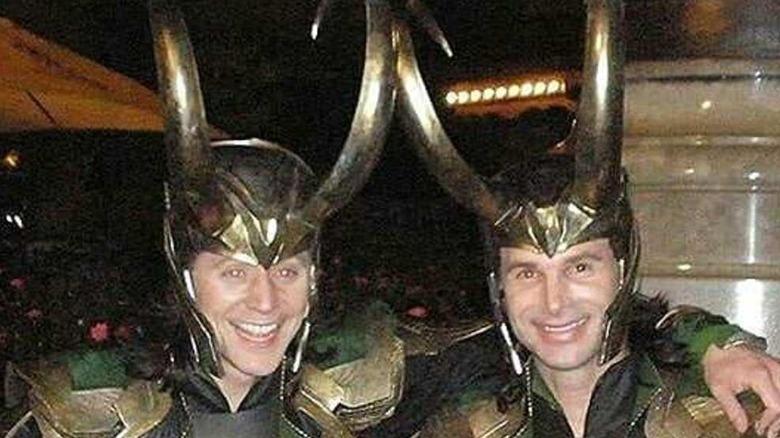Tom Hiddleston and Paul Lacovara