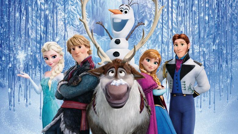 frozen main cast