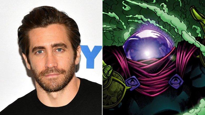 Jake Gyllenhaal and Mysterio