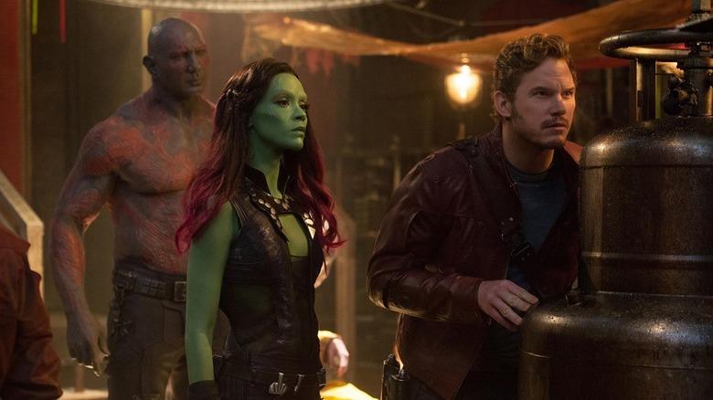 Drax Gamora Peter Quill