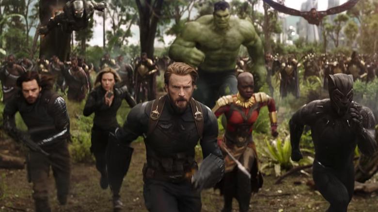The Marvel gang in Wakanda