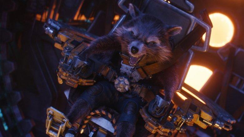 Rocket in Avengers: Infinity War
