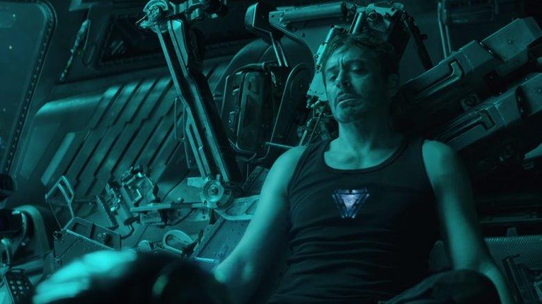 Robert Downey Jr as Tony Stark/Iron Man in Avengers: Endgame
