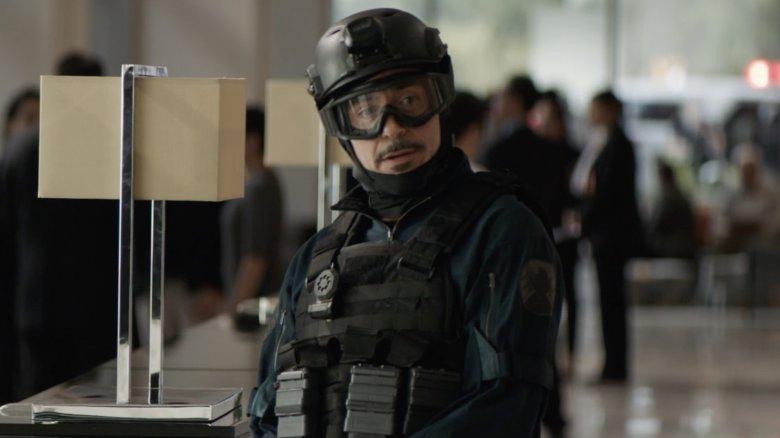 Robert Downey Jr. Homem de Ferro Avengers Endgame blooper