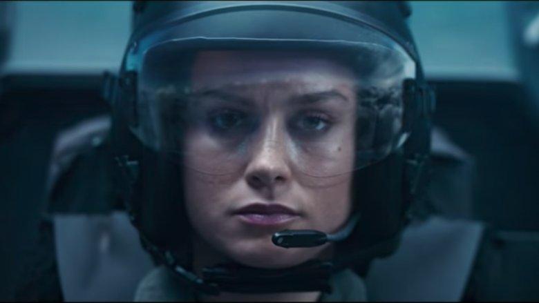 Carol Danvers as a fighter pilot