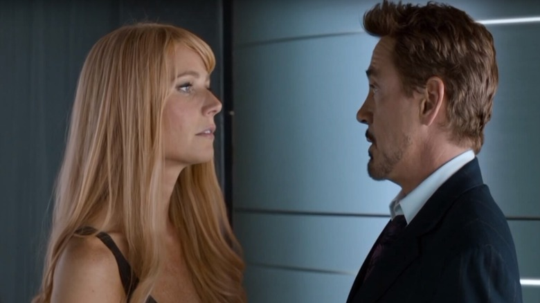 Pepper Potts and Tony Stark