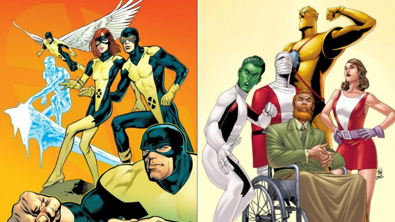Characters Marvel stole from DC and gave a new name