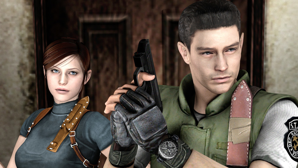 Chris Redfield and Claire Redfield