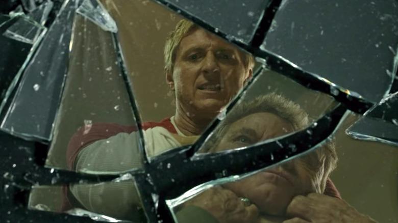 Johnny Kreese shattered mirror