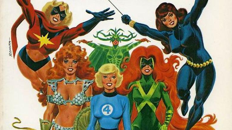The Superhero Women of Marvel