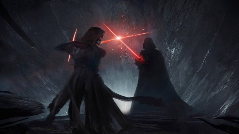 Concept Art For Star Wars Duel Of The Fates Leaks