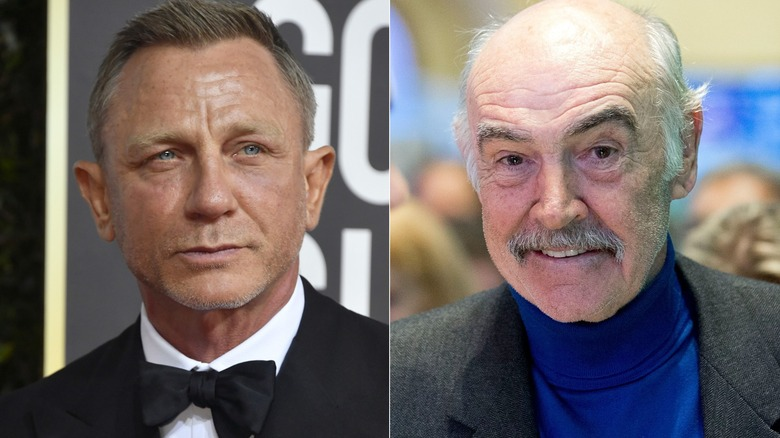 Daniel Craig's touching tribute to Sean Connery