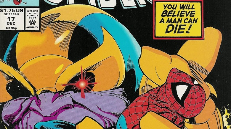 Thanos vs. Spider-Man