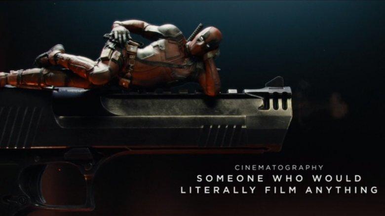 Ryan Reynolds in Deadpool 2 alternate credits sequence