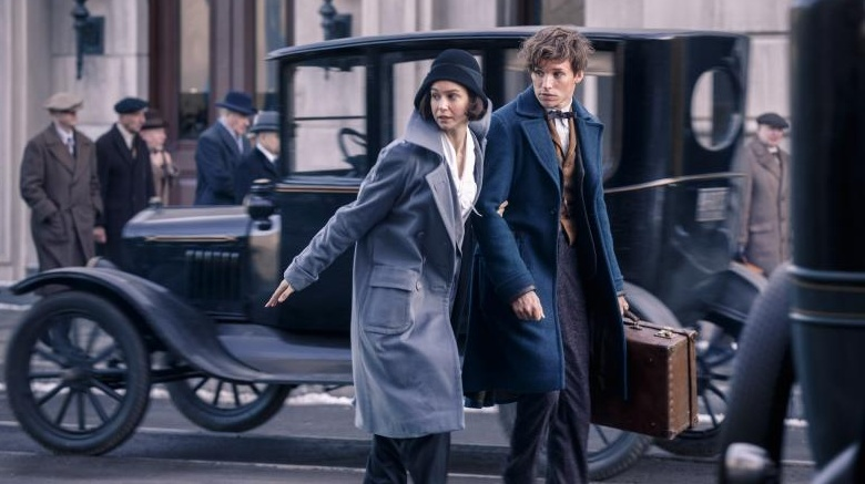 The biggest tie-in between Scamander and the Potter universe—well eb6e35a9291