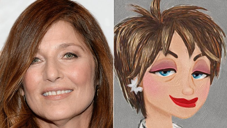 Catherine Keener as Evelyn Deavor in Incredibles 2