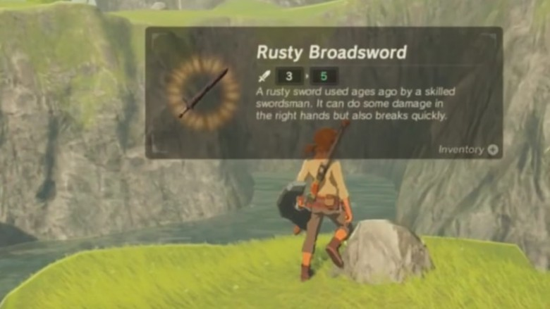 Easter eggs in Legend of Zelda: Breath of the Wild