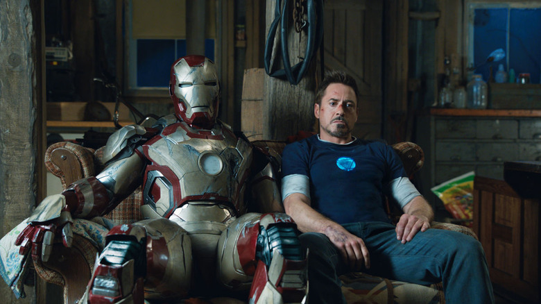 Stark and his armor