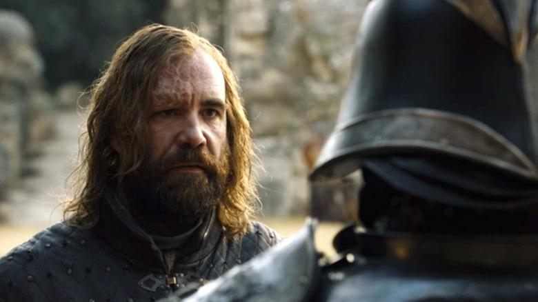 Sandor and Gregor Clegane in Game of Thrones