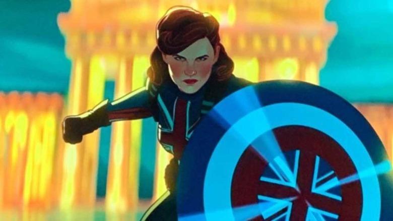 Peggy Carter as Captain America
