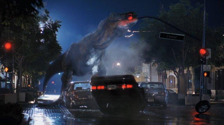 T-Rex Eats Traffic Light