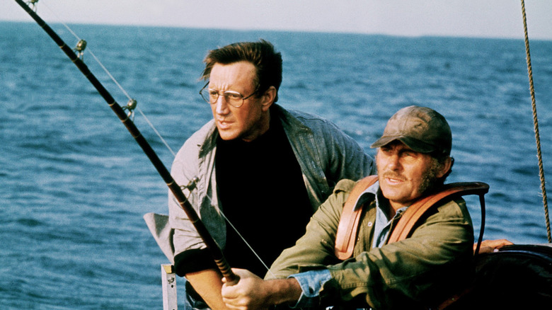 Roy Scheider and Robert Shaw in Jaws