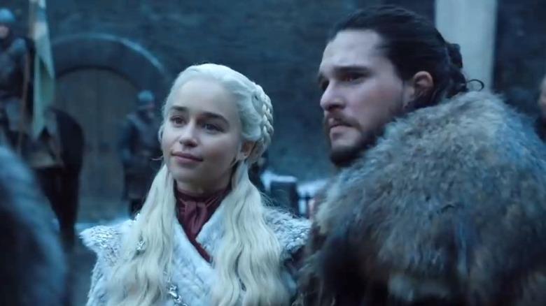 Daenerys arrives at Winterfell