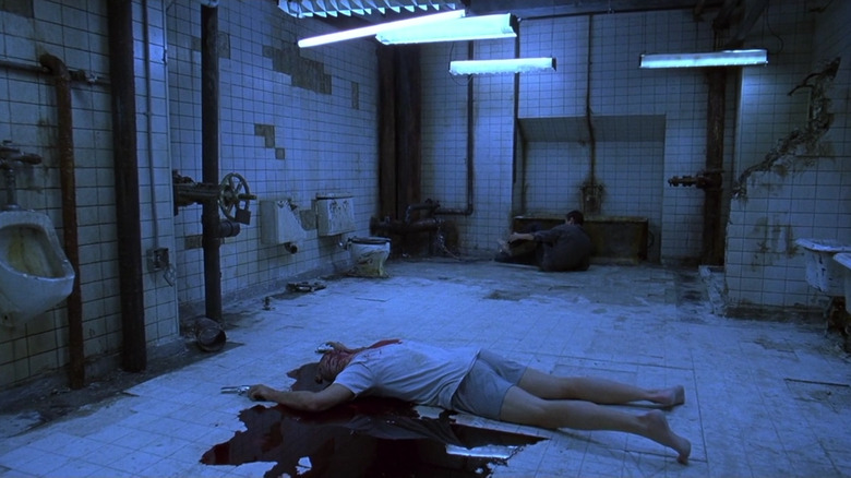 Scene from Saw