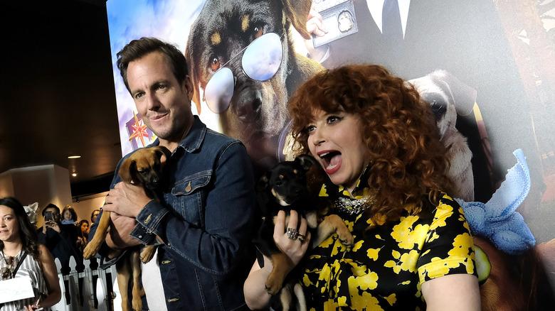 Will Arnett and Natasha Lyonne