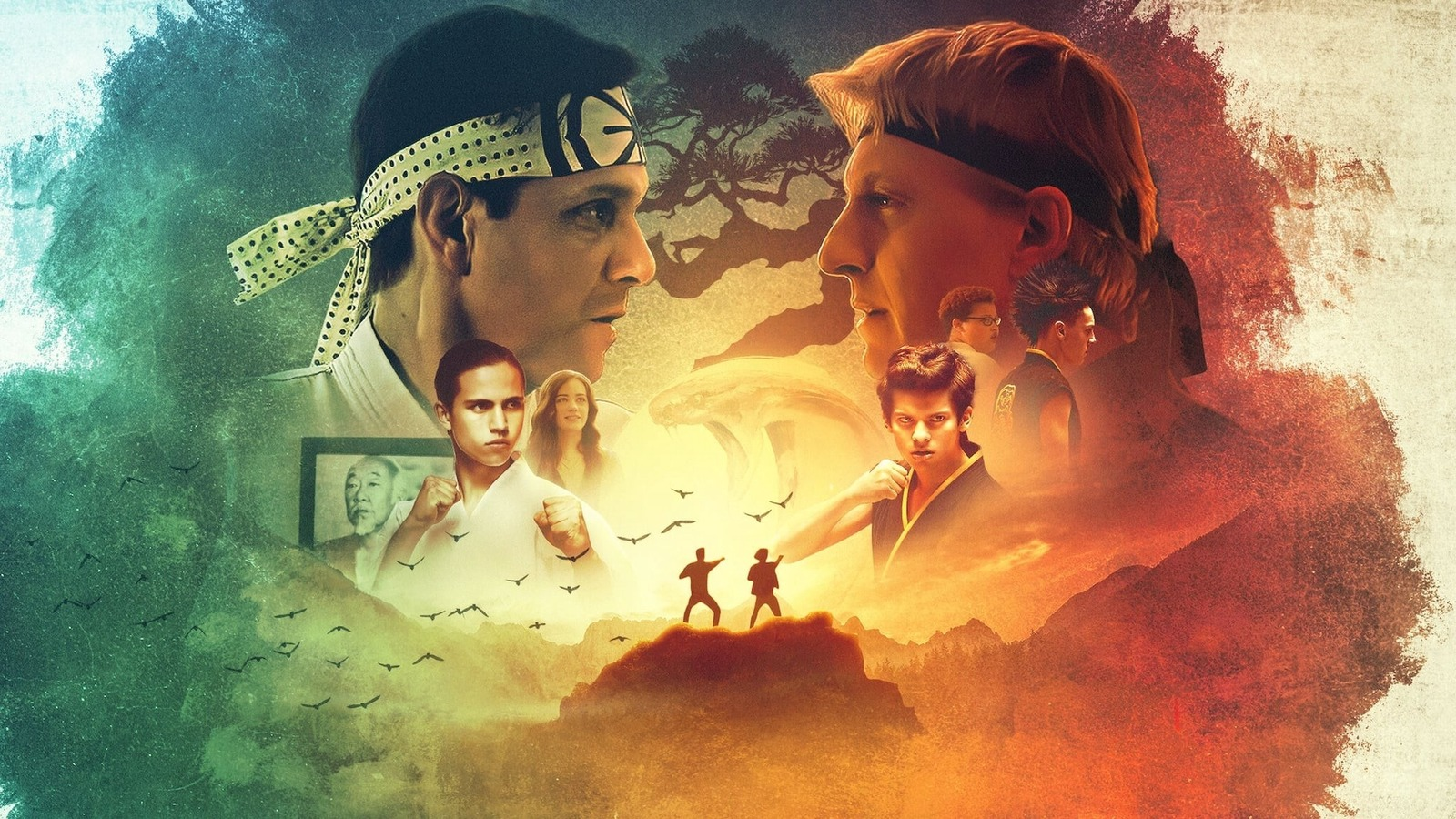 How Old The Cast Of Cobra Kai Really Is The series was created by josh heald, jon hurwitz and hayden schlossberg, and stars ralph macchio and william zabka. how old the cast of cobra kai really is