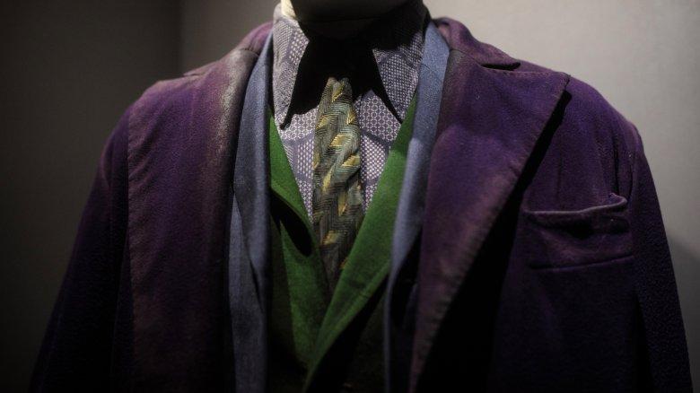 Ledger's Joker costume