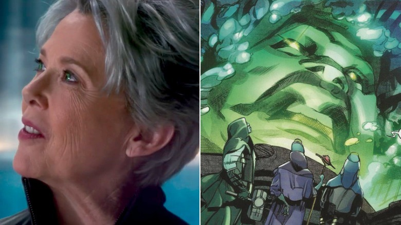 Annette Bening as the Supreme Intelligence/Art by Greg Tocchini