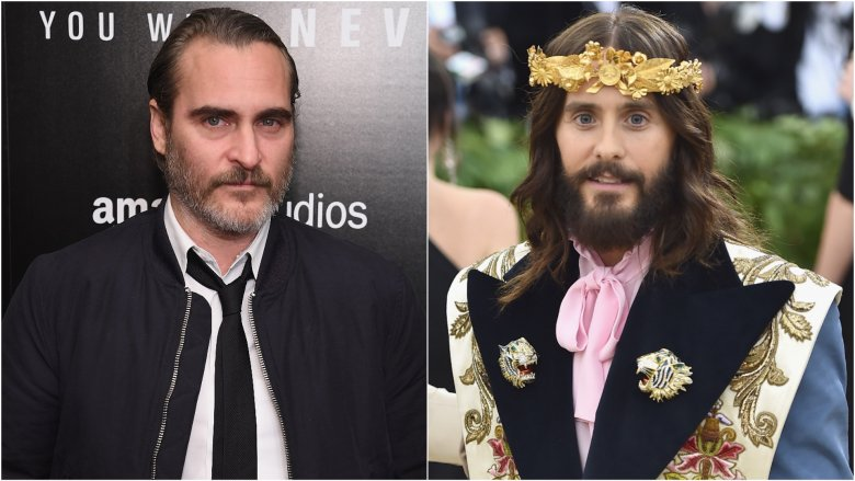 Joaquin Phoenix and Jared Leto